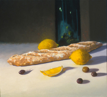 Still Life With Baguette