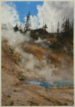Steaming Pool 3-Yellowstone, Wyoming