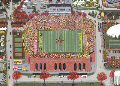 The Big Game: An Autumn Day at Kinnick Stadium