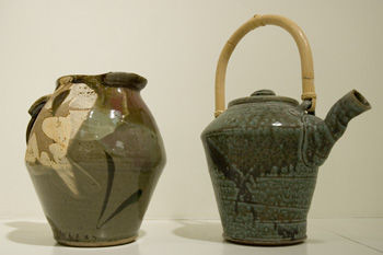 untitled pitcher and teapot
