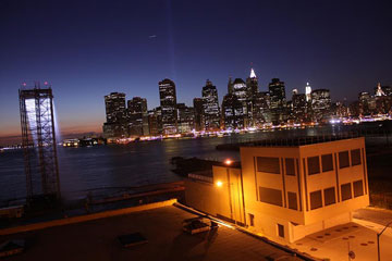 Manhatten Skyline From Brooklyn