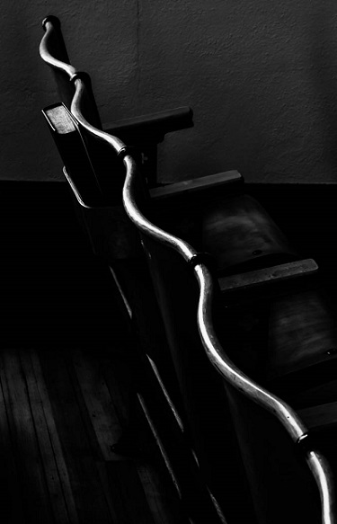 "Chair Backs, Yale Methodist</i>, from the project ""Places of Spirit and Light""<i>"