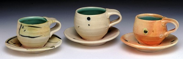 3 Cups & Saucers