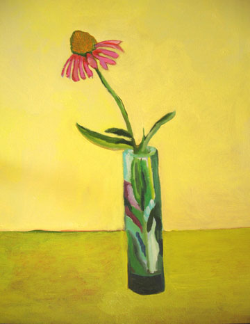 Still Life with Coneflower