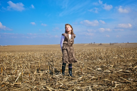 Caroline Louise, near Andrew, Iowa</i></i>, from the project <i>Lost in the Midwest